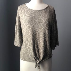 Anthropologie Caution to the Wind Tie Top